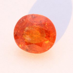 Well Faceted Oval Fanta Orange Spessartine Garnet SI2 Clarity 3.07 carat #1542