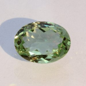Mint Green Tsavorite Garnet Untreated Gemstone Faceted 9x7 Oval 1.82 carat