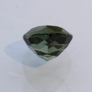 Medium Dark Green Tourmaline Faceted Pear Brazil Untreated Gemstone 1.70 carat