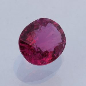 Rubellite Pink Purple Tourmaline Faceted Oval Brazil Gemstone 2.50 carat