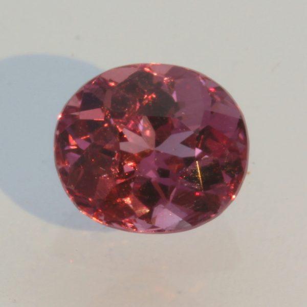 Malaya Purple Red Garnet Oval Untreated Natural Malaia Gemstone 1.84 carat
