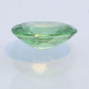 Minty Green Tsavorite Garnet Untreated Natural Gemstone Faceted Oval .94 carat