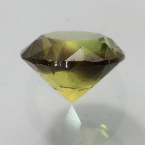 Australian Green Sapphire Faceted Round 5.8 x 5.8 mm Natural Gemstone 1.11 carat