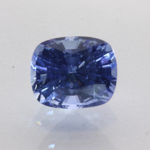 Ceylon Blue Sapphire 7.5 x 6.2 mm Antique Cushion Heat Only Gemstone 1.91 carat