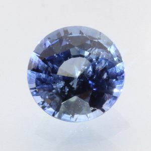 Ceylon Blue Sapphire 7.2 mm Round Diamond Cut Heat Only Gemstone 1.76 carat