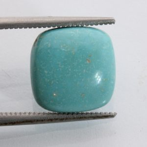American Turquoise Cabochon Blue Green Untreated All Natural Gemstone 5.57 carat