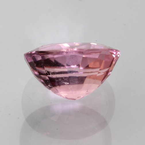 Pink Tourmaline Faceted 10.9x8.5 Oval Untreated VS Clarity Gemstone 3.87 carat
