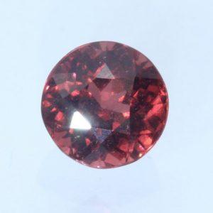 Red Pyrope Garnet 6.4 mm Sparkling Round Untreated African Gemstone 1.57 carat