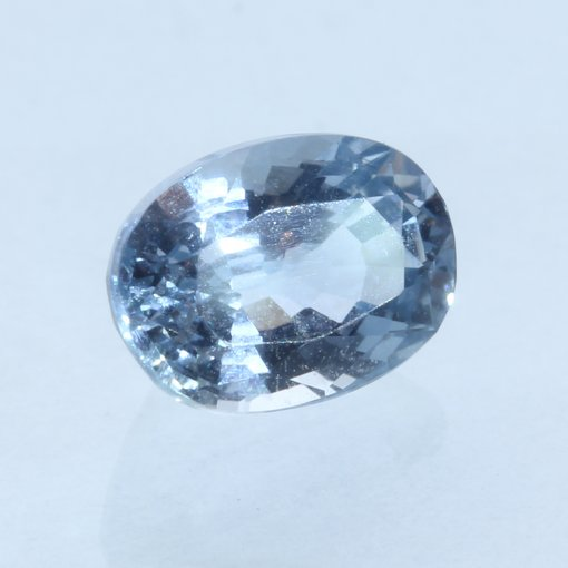Light Blue Ceylon Sapphire Sparkling 7 x 5 Oval Sri Lanka Gemstone 1.26 carat