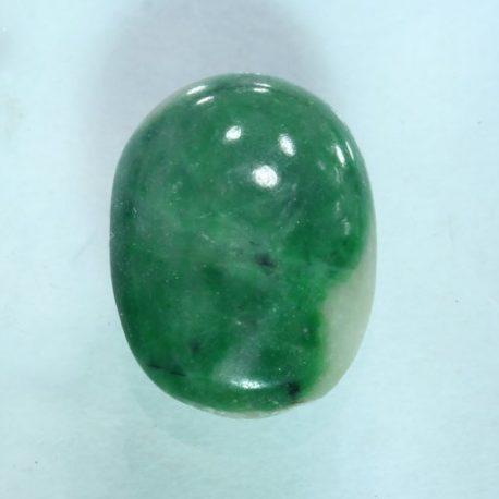 Burmese Green Jadeite Untreated A Grade Jade Gemstone 8.9x6.4mm Oval 1.45 carat