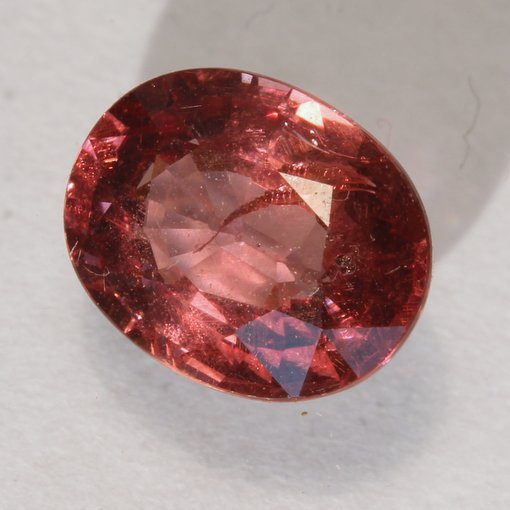 Color Change Garnet Natural Red Orange Pink Faceted 8.2 x 6.5 mm Oval 1.80 Carat