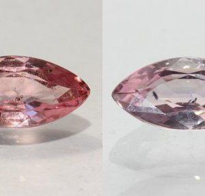 Color Shift Garnet Natural Purple Pink Faceted Marquise Gemstone 1.76 Carat