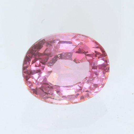 Sparkling Pink Spinel Mogok Oval Faceted 5.8 x 4.8 mm Burma Gemstone .85 carat