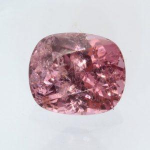 Sparkling Pink Spinel Mogok Cushion Faceted 7.8x6.6 mm Burma Gemstone 1.81 carat