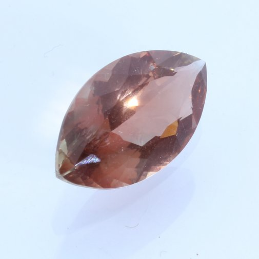 Oregon Sunstone Copper Shiller Peach Pink Marquise Untreated Gemstone 3.37 carat