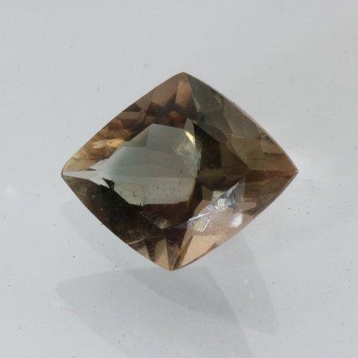 Oregon Sunstone Copper Shiller Green Blue Faceted Kite Untreated Gem 3.19 carat