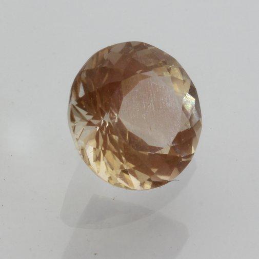 Oregon Sunstone Copper Shiller Peach Eye Clean Oval Cut Untreated Gem 2.34 carat