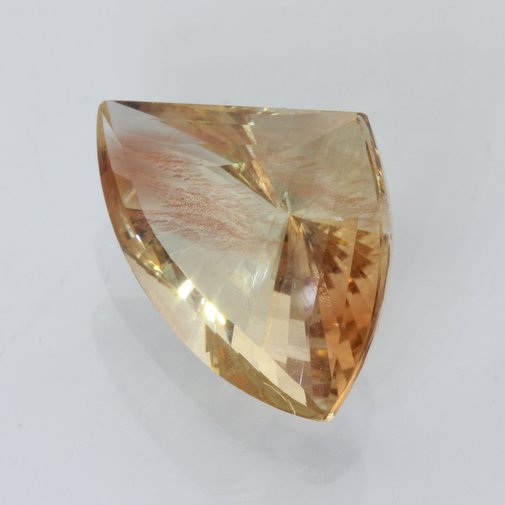 Oregon Sunstone Golden Red Yellow Copper Fancy Cut Untreated Art Gem 13.22 carat