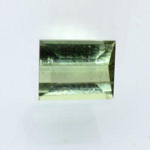 Mint Green Tourmaline Faceted 6.9 x 5.5 mm Octagon Natural Gemstone 1.12 carat
