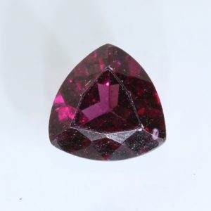 Red Purple Rhodolite Garnet 5.5x5.5 mm Reuleaux Triangle Untreated Gem .61 carat