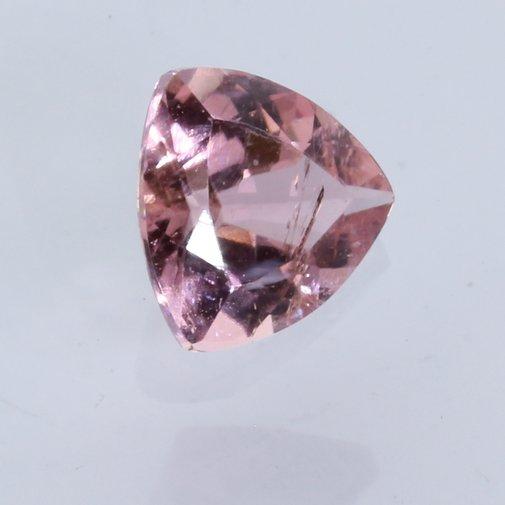 Carnation Pink Tourmaline Faceted 5.5mm Trillion Reuleaux Triangle Gem .52 carat