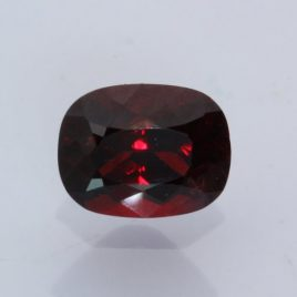 Deep Red Spinel Faceted 9x7mm Oval Cushion Untreated Burma Gemstone 2.69 carat