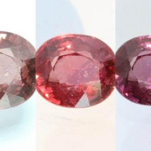 Color Change Garnet Purple Red Pink Oval 7.3x6.3 mm African Gemstone 1.70 Carat
