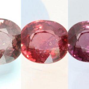 Color Change Garnet Purple Red Pink Oval 7.3x6.3 mm African Gemstone 1.70 Carat