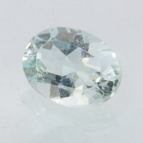 Topaz Light Sky Blue Faceted Oval 8x6 mm VVS clarity Natural Gemstone 1.53 carat