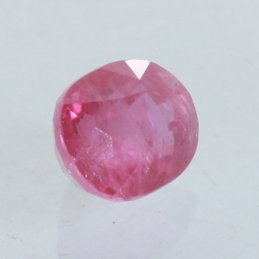 """13x18MM Naturel Rose clair Ruby Oval Loose Beads Gemstone 15/"""" AAA"""