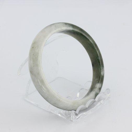 Bangle Bracelet Jade Comfort Cut Burma Jadeite Natural Stone 55.2 mm 6.8 inch