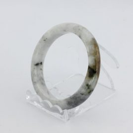 Bangle Bracelet Jade Comfort Cut Burma Jadeite Natural Stone 50.9 mm 6.3 inch