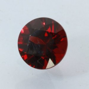 Garnet Pyrope Red Precision Faceted Round 8.5 mm SI1 Clarity Gemstone 2.62 carat