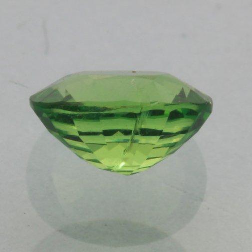 Tsavorite Garnet Grass Green Faceted 7x5 mm Oval Bright Natural Gem 1.11 carat