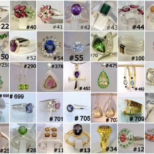Catalog Custom Order Handmade Jewelry LEE Designs Styles Selection Examples