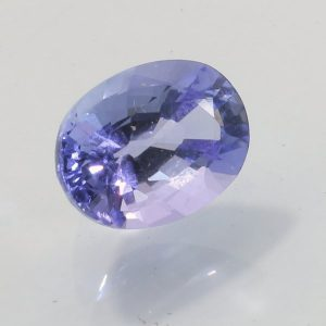 Tanzanite Corn Flower Blue 10x7.5 mm Faceted Oval VS Clarity Natural 2.93 carat