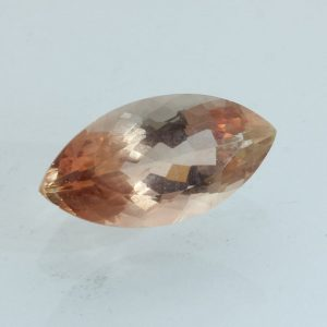 Sunstone Oregon Copper Shiller Precision Faceted Marquise 13.9x7.0 mm 2.68 carat