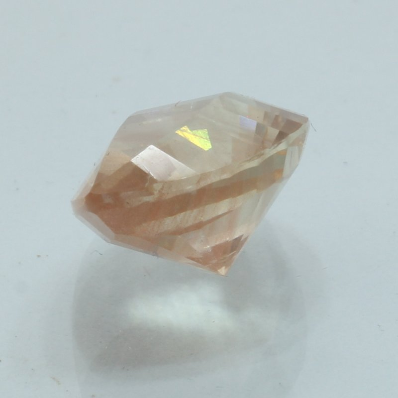 Sunstone Oregon Copper Shiller 11.1x8.8mm Precision Faceted Fancy Cut 2.92 carat