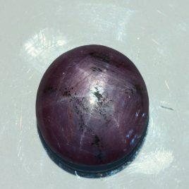 Purple Star Sapphire India Star Ruby 21 x 20 mm Round No Treatment 53.53 carat