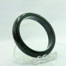 Mawsitsit Bangle Burmese Maw Sit Sit Rock Comfort Cut Bracelet 6.9 inch 56.5 mm