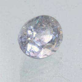 Blue Gray Sapphire Unheated 6x5 mm Oval VS Clarity Natural Madagascar 1.00 carat
