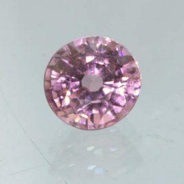 Pink Sapphire Unheated 5.6 mm Round VS Clarity Natural Madagascar Gem .98 carat