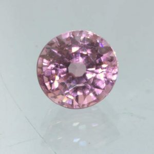 Pink Sapphire Unheated 5.6 mm Round VS Clarity Natural Madagascar Gem .98 carat