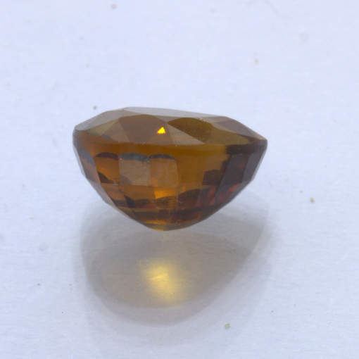 Mali Garnet 9 mm Pear VS Clarity Golden Brown Natural Untreated Gem 3.08 carat
