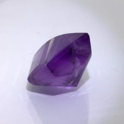 Purple Amethyst Fancy Pentagram Cut 14 mm Untreated Burma Gemstone 10.15 carat