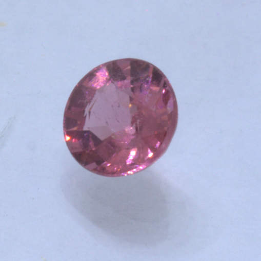 Malaya Garnet orange Purple Pink Padparadscha 5.8 mm Round Natural Gem .90 carat