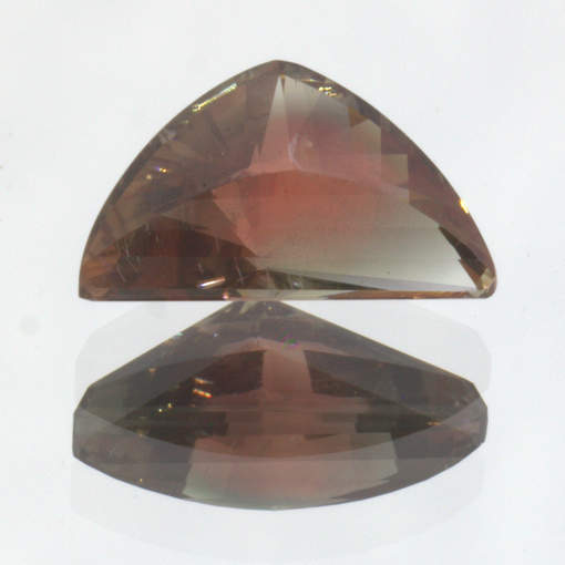 Oregon Sunstone Red Orange Blue Green Precision Fancy Cut Gemstone 1.93 Carat