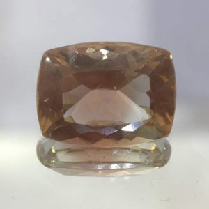 Oregon Sunstone Copper VS Clarity Untreated Faceted 12X9 mm Cushion 4.49 carat
