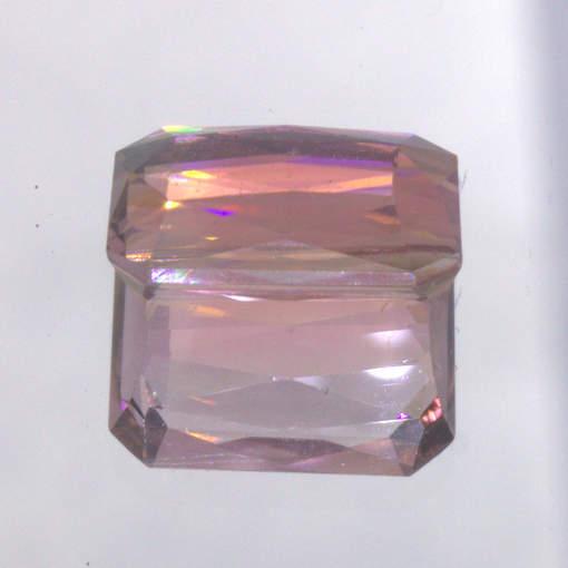 Tourmaline Pink Unheated Brazil Gem 11×8.5 Faceted Cushion VS Clarity 3.77 carat