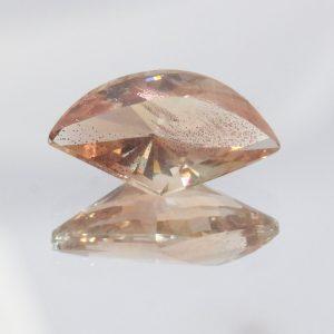 Oregon Sunstone 13 mm Fancy Cut Untreated Gem VVS Plus Copper Shiller 2.86 Carat